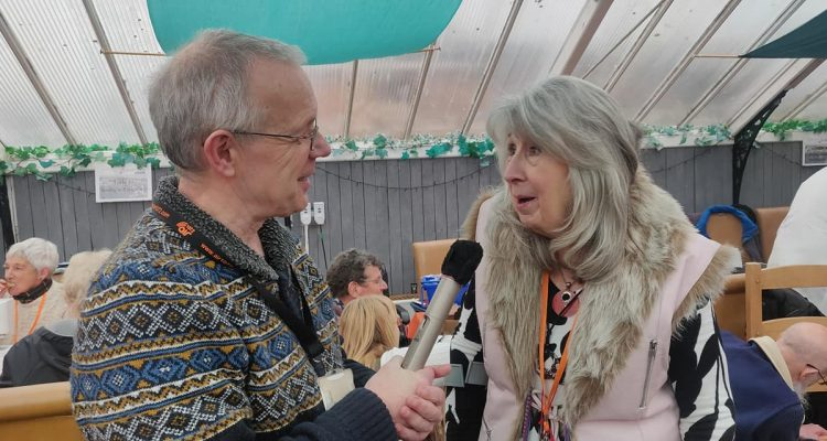 Ros Dean of Weymouth Repair Café